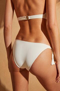 Womensecret Culotte de bikini classique à nœuds blanc