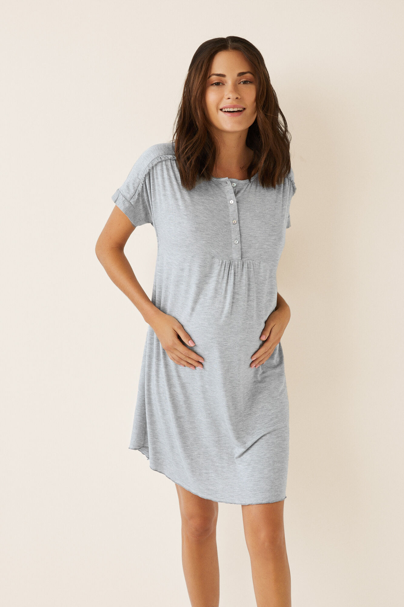 9032c8efa1541 Short maternity nightgown | Maternity | Women'secret