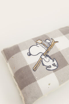 Womensecret Checked Snoopy cushion grey
