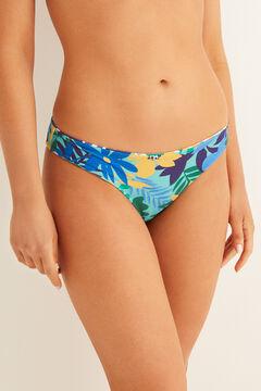 Womensecret Reversible bikini bottoms blue