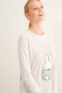 Womensecret Long Miffy dessert pyjamas grey