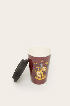 Womensecret Harry Potter tall cup with lid printed