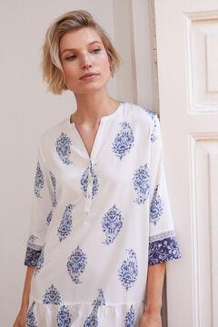 Womensecret Printed camisole blue