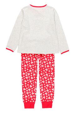 Womensecret Pijama malha para menina - orgânico cinzento