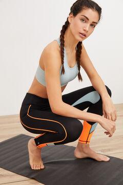 Womensecret Legging cintura elástica negro