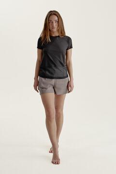 Womensecret T-shirt Karuna Black preto