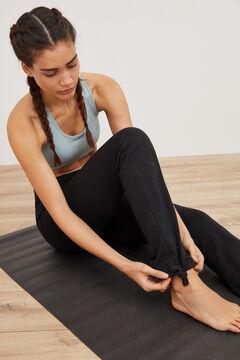 Womensecret Legging cinturilla negro