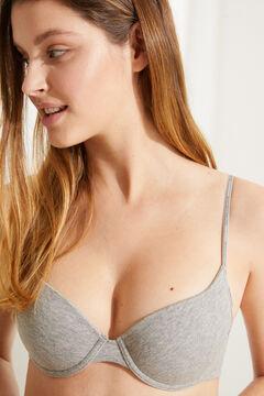 Womensecret Classic organic cotton bra grey