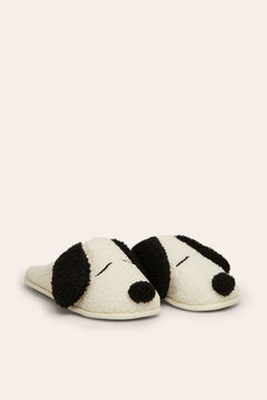Womensecret Snoopy house slippers with ears beige