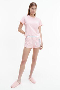 Womensecret Calvin Klein pyjama set with logo pink