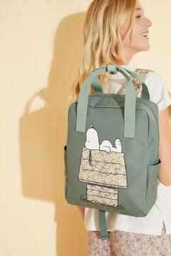 Womensecret Green Snoopy bag green