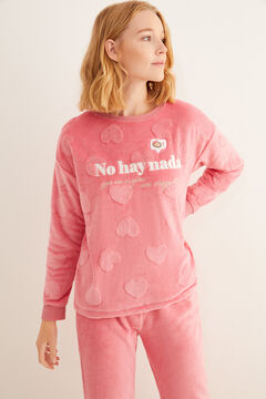 Womensecret Long pink pyjamas  pink