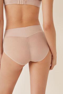 Womensecret Braga media moldeadora de tul nude