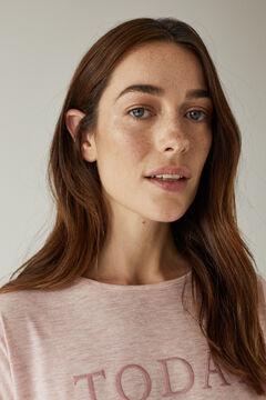 Womensecret Pijama largo rosa rosa
