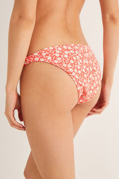 Womensecret Printed bikini bottoms pink
