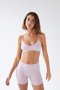 Womensecret lilac seam-free shorts pink