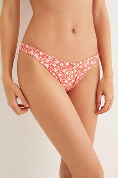 Womensecret Braga bikini estampada rosa