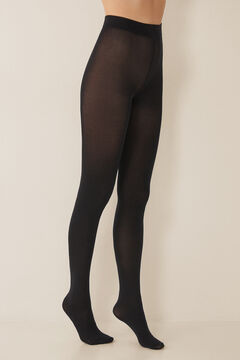 Womensecret 200 DEN thermal tights black
