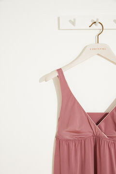 Womensecret Pink midi nightgown pink