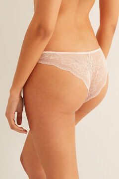 Womensecret Supersoft Brazilian panty pink