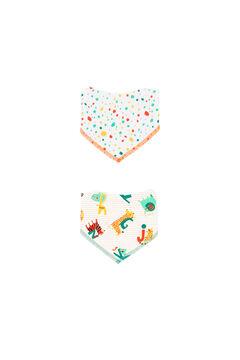 Womensecret Pack 2 lenços do bebê - Algodão orgânico impressão