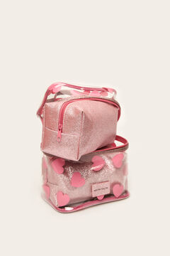 Womensecret Pack of 3 vanity cases pink