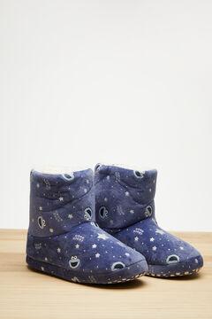 Womensecret Botas velour azul Triki 3D azul