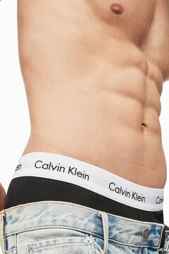 Womensecret Calvin Klein cotton boxers with waistband black