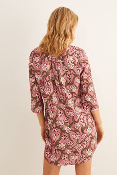 Womensecret Short printed camisole pink