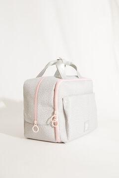 Womensecret Large grey briefcase style vanity case grey