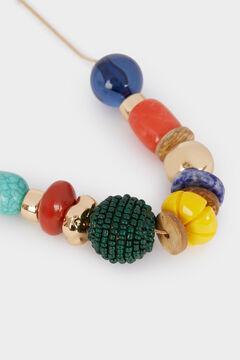 Womensecret Collar corto con piedras estampado