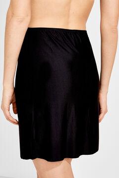 Womensecret Slip skirt preto