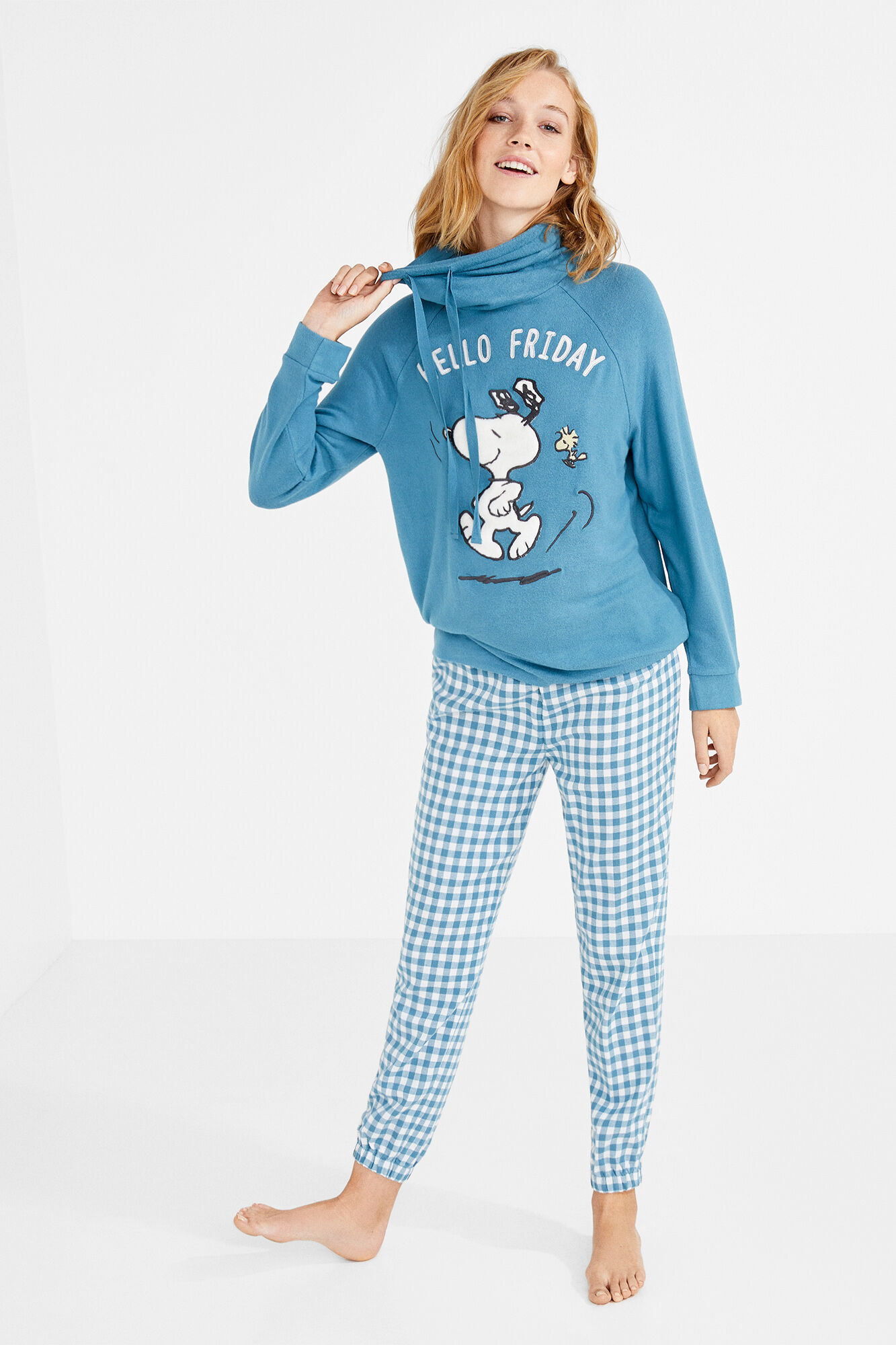 96f3bb54d Pijama largo Snoopy  Hello Friday