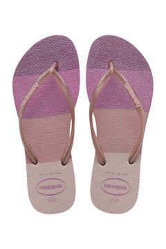 Womensecret Chanclas kids SLIM PALETTE  rosa