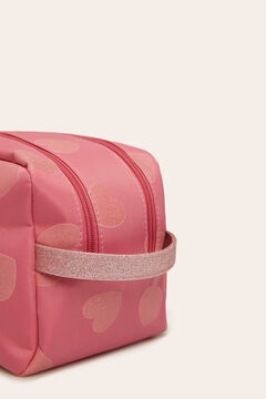 Womensecret Vanity case with double zip  pink