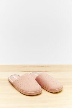 Womensecret Pink slider slippers pink