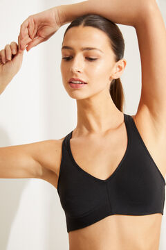 Womensecret Sports bra black