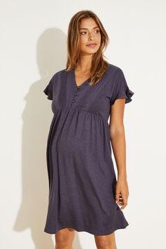 Womensecret Navy blue nightgown blue