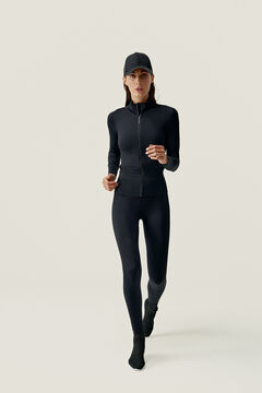 Womensecret Full Black Nila Jacket preto