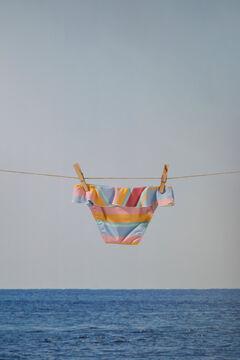 Womensecret Girls' printed bikini bottoms printed