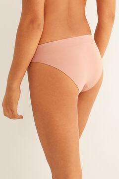 Womensecret Nude seam-free classic panty pink