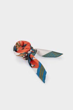 Womensecret Pañuelo cuadrado estampado estampado
