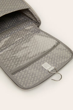 Womensecret Large vanity case with hanger grey