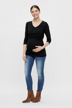 Womensecret Top duplo função maternity preto