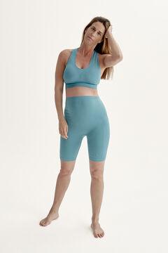 Womensecret Short Mommy Biker Steel Blue blue