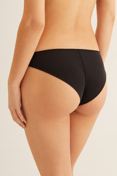 Womensecret Seamless brief black