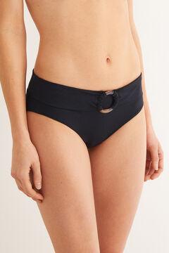Womensecret Braga bikini detalle cinturón negro
