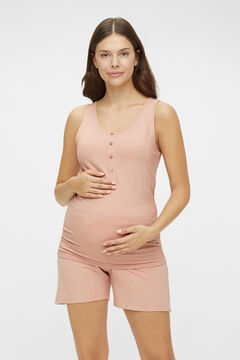 Womensecret Short maternity pyjamas pink