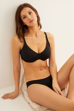 Womensecret Underwired bra fekete