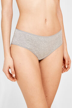 Womensecret 3 cotton panties pack grey